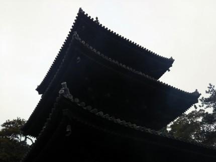 お寺へ初詣