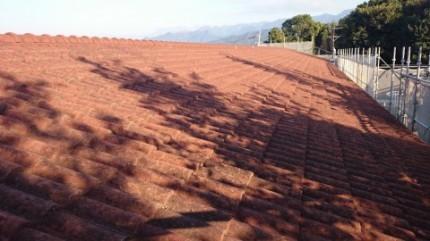 屋根塗替え1