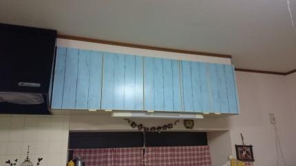 キッチン扉模様替え1