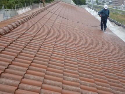 屋根塗替え2